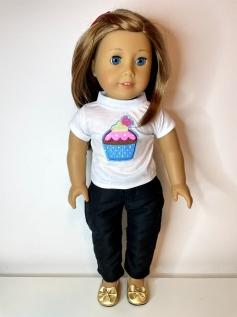 Blusa para American Girl ou Our Generation (0220)