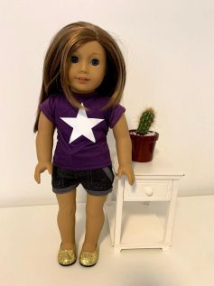 Blusa para American Girl ou Our Generation (0003)