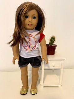 Blusa para American Girl ou Our Generation (0005)