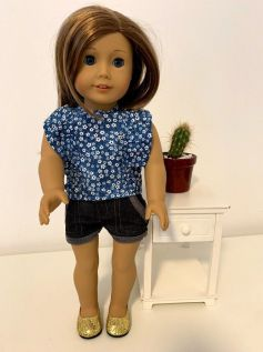 Blusa para American Girl ou Our Generation (0010)