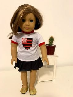 Blusa para American Girl ou Our Generation (0026)