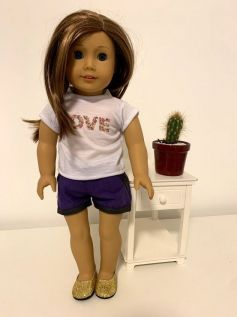 Blusa para American Girl ou Our Generation (0030)