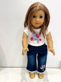 Blusa para American Girl ou Our Generation