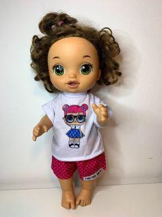 Blusa para Baby Alive (0026)