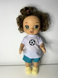 Blusa para Baby Alive (0042)