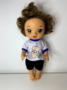 Blusa para Baby Alive (0043)