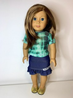 Blusa Tie Dye para American Girl ou Our Generation (0005)