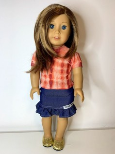 Blusa Tie Dye para American Girl ou Our Generation (0006)
