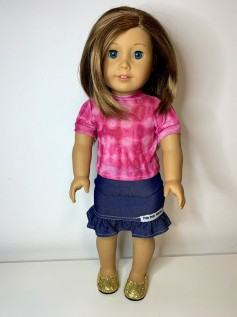 Blusa Tie Dye para American Girl ou Our Generation (0007)