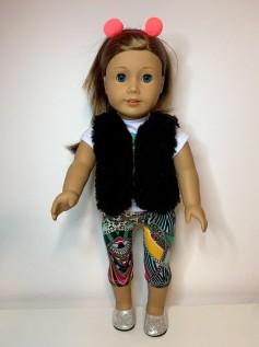 Calça Legging Corsário para American Girl ou Our Generation (0006)