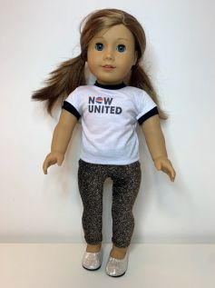 Calça Legging para American Girl ou Our Generation (0007)