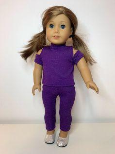 Calça Legging para American Girl ou Our Generation (0009)