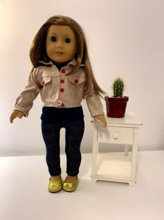 Calça Legging para American Girl ou Our Generation (0002)