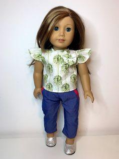 Calça para American Girl ou Our Generation (0021)