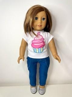 Calça para American Girl ou Our Generation (0030)
