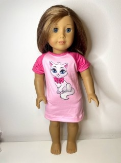 Camisola para American Girl ou Our Generation (0001)