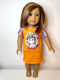 Camisola para American Girl ou Our Generation (0004)