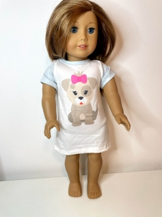 Camisola para American Girl ou Our Generation (0005)