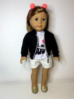 Casaco/Jaqueta para American Girl ou Our Generation (0001)