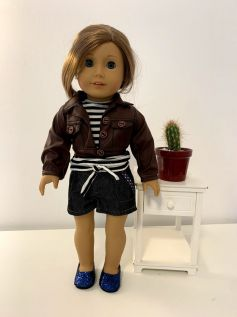 Casaco/Jaqueta para American Girl ou Our Generation (0003)