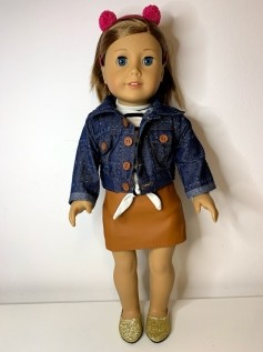 Casaco/Jaqueta para American Girl ou Our Generation (0006)