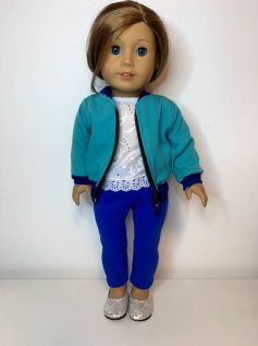 Casaco/Jaqueta para American Girl ou Our Generation (0007)