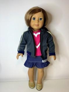 Casaco/Jaqueta para American Girl ou Our Generation (0008)