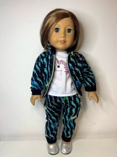Conjunto para American Girl e Our Generation (0006)
