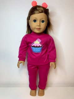 Conjunto para American Girl e Our Generation (0010)