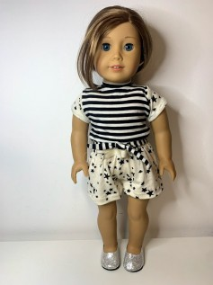Conjunto para American Girl e Our Generation (0011)