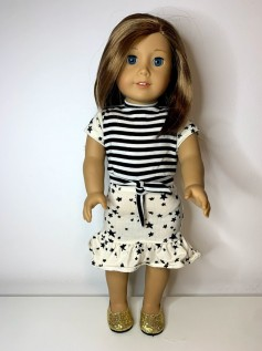Conjunto para American Girl e Our Generation (0013)