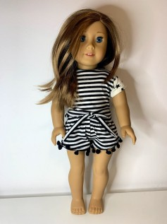 Conjunto para American Girl e Our Generation (0018)