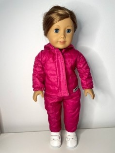 Conjunto Ski para American Girl e Our Generation (0002)