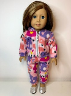 Conjunto Soft para American Girl e Our Generation (0001)