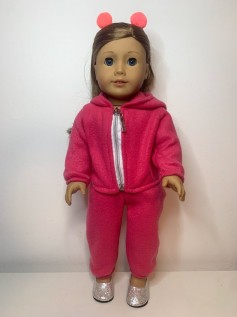 Conjunto Soft para American Girl e Our Generation (0002)