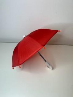 Guarda Chuva para Boneca Vermelho