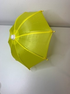 Guarda Chuva para Boneca Amarelo