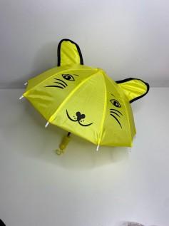 Guarda Chuva para Boneca Amarelo Orelha