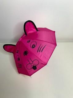 Guarda Chuva para Boneca Rosa Pink Orelha