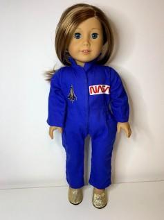 Macacão NASA para American Girl ou Our Generation (0002)