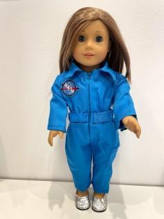 Macacão NASA para American Girl ou Our Generation (0003)