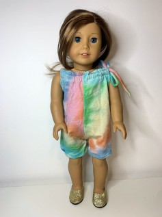 Macaquinho Tie Dye American Girl ou Our Generation