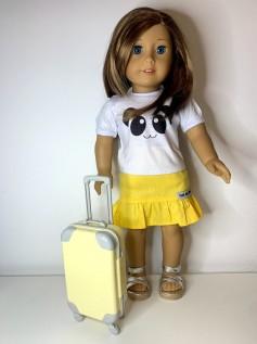 Mala para Boneca Amarela