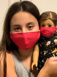 Máscara para Menina e Boneca (0001)