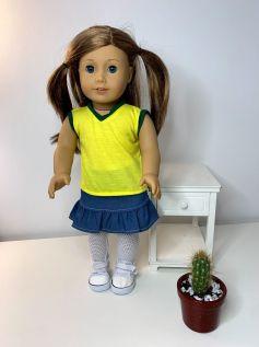 Meia Calça para American Girl ou Our Generation (0002)