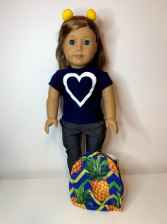 Mochila para Boneca (0022)