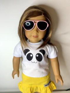 Óculos Escuro para American Girl ou Our Generation (0001)