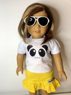 Óculos Escuro para American Girl ou Our Generation (0002)