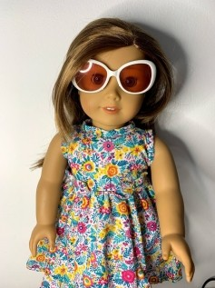 Óculos Escuro para American Girl ou Our Generation (0005)
