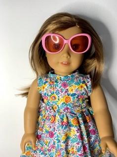 Óculos Escuro para American Girl ou Our Generation (0007)